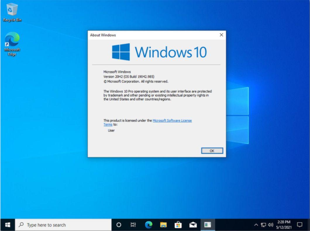 Windows 10 X64 Pro 20H2 Мультиязычная Май 2021 by Generation2