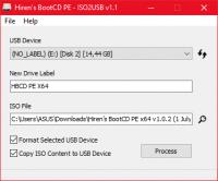 Hirens BootCD PE x64 v1.0.2 (1 July 2021)
